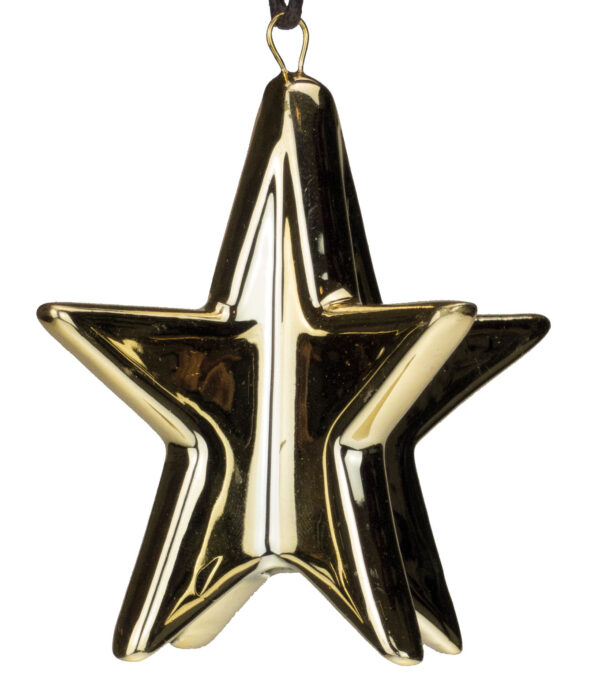 Metallic Glazed Stars