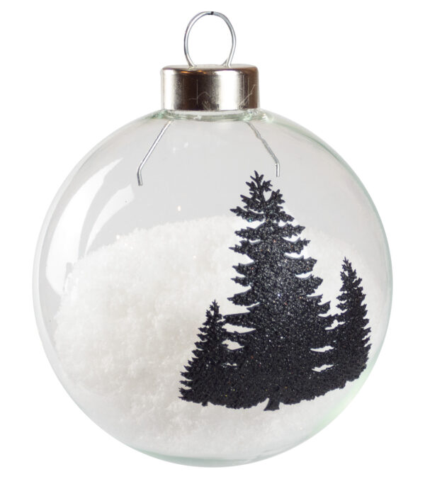 Silhouette Tree Baubles