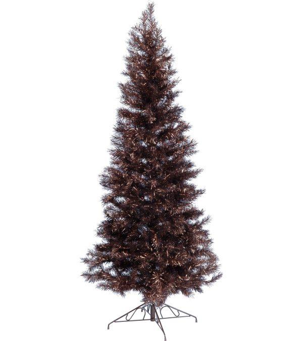 Chocolate Slimline Christmas Tree