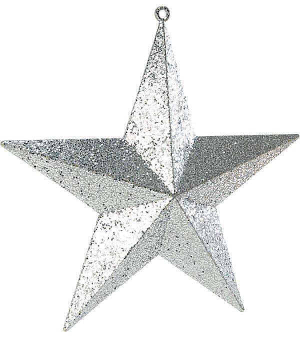 Large Glitter Stars