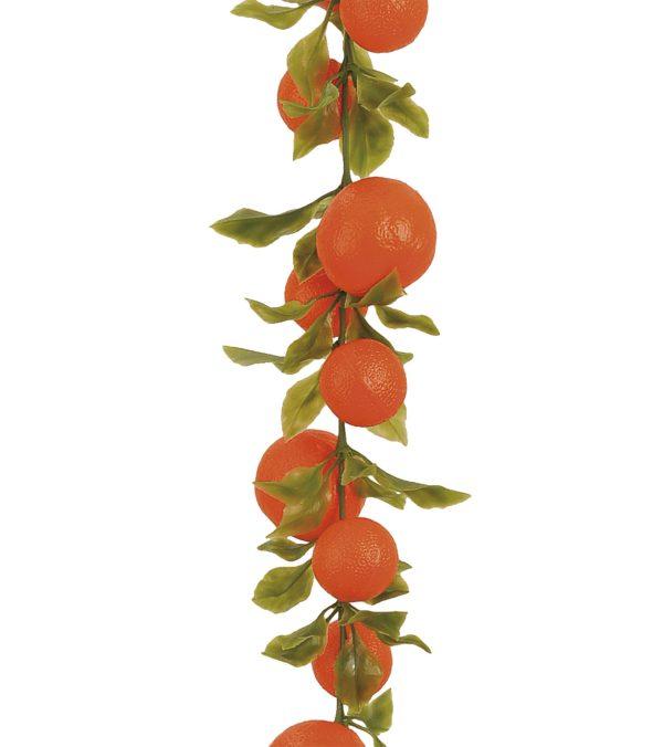 Orange Garland - 200cm Long