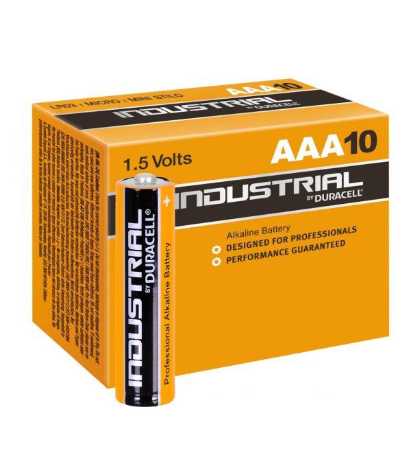 Batteries AAA - Pack of 10 - Orange