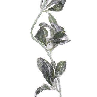 Frosted Mistletoe Garland - 180cm Long