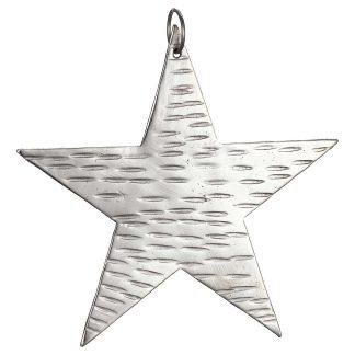 Hammered Metal Stars