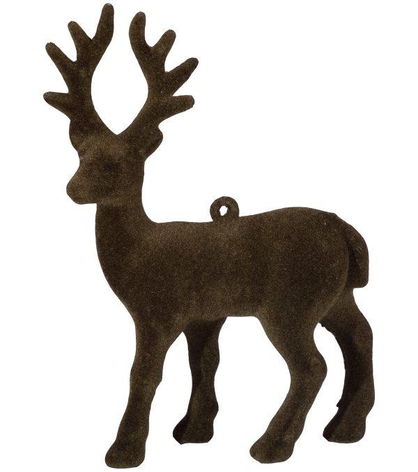 Flocked Reindeer