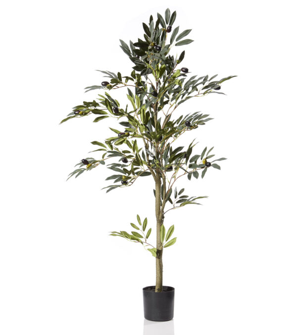 Artificial Olive Tree - 120cm tall - Green