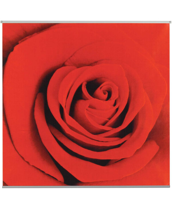 Scarlet Textile Poster Kit - 95cm Square - Red - Sold Individually