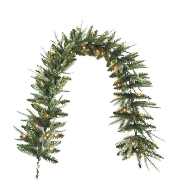 Pre Lit Colorado Pine Christmas Garland