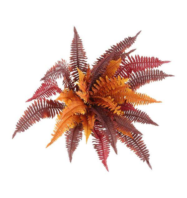 autumn fern artificial plant