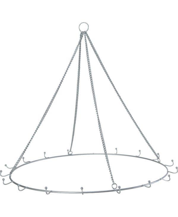 chandelier frame round