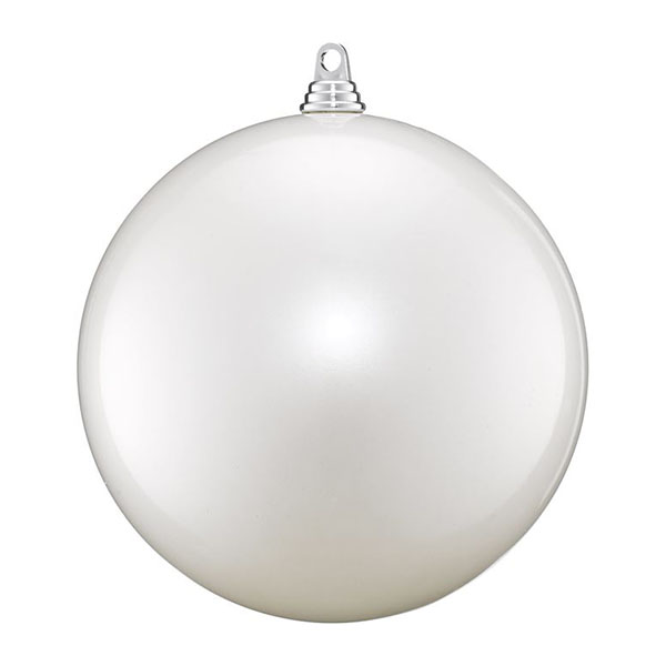 250mm pearl white bauble
