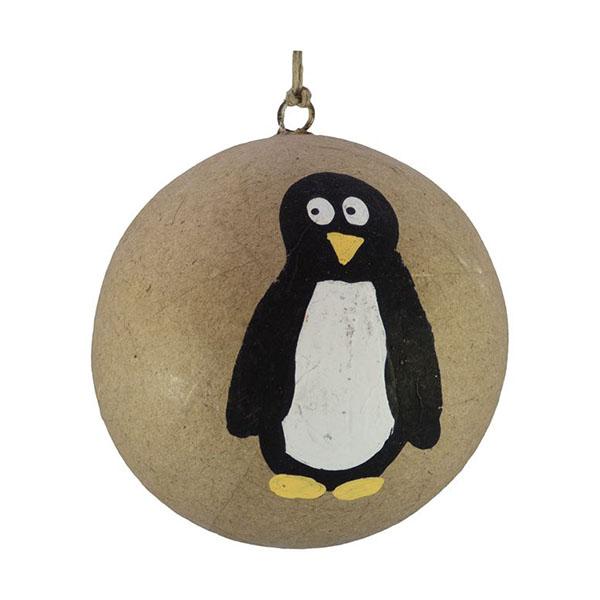 penguin kraft bauble