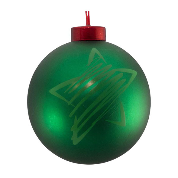 green star icon bauble