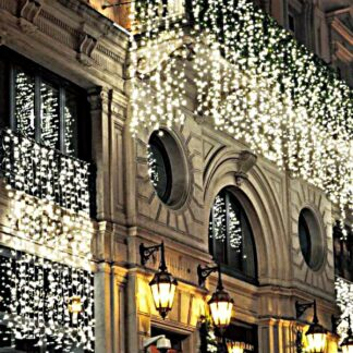 Commercial Grade Curtain Lights