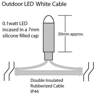 Multi Function Icicle Lights - Display Pro