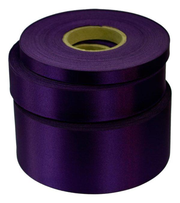 Violet Satin Acetate Ribbon