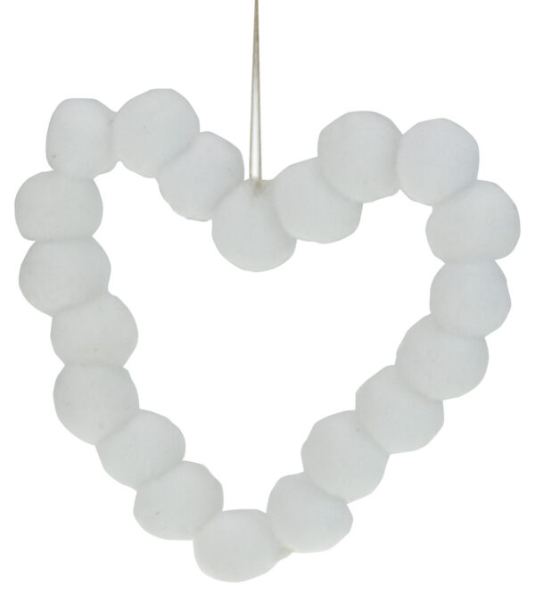 Pompom Hearts 9cm