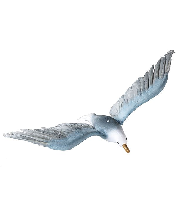 Flying Seagull - 76cm X 35cm - Grey - Sold Individually