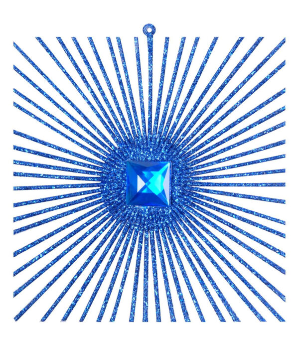 Radiating Glitter Square Small 12cm x 12cm