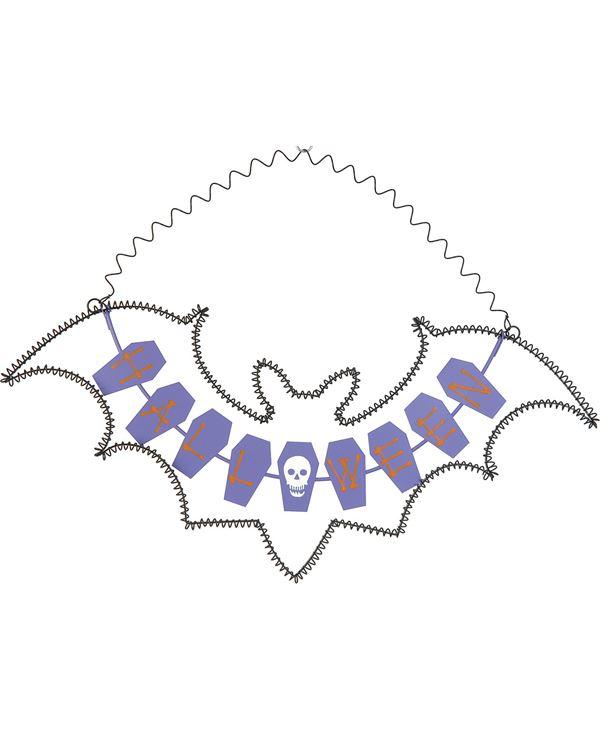 Halloween Sign - 55 X 40cm - Multicolour