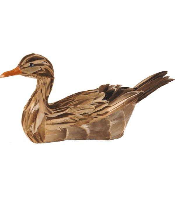 Mallard Duck - 30cm X 18cm - Brown - Sold Individually