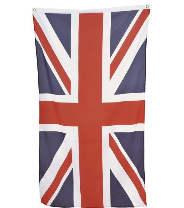 Union Jack Flag - 1.5m X 90cm - Red White and Blue - Sold Individually