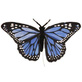 Butterfly Picks - 9cm - 9cm - Multicolour - Pack of 12