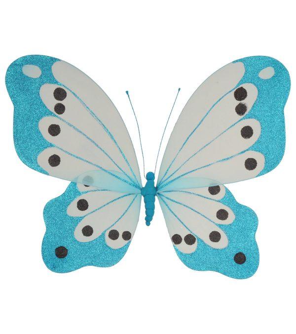 Butterfly glittered