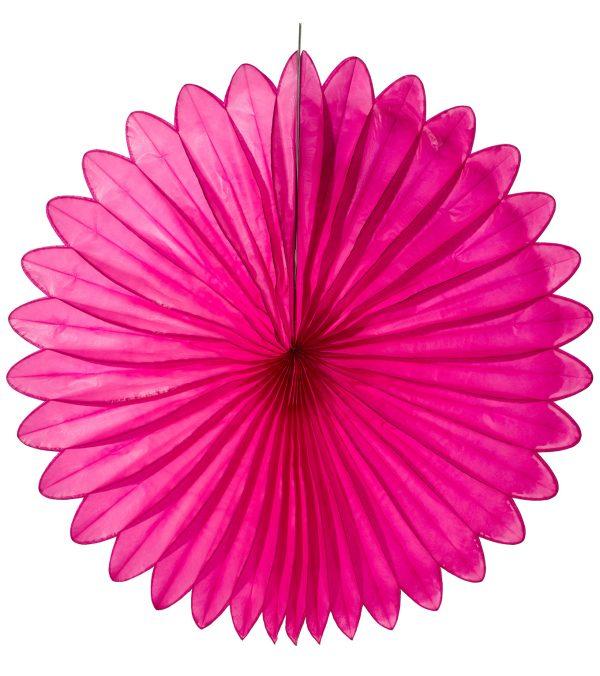 Flower fan - paper fold out