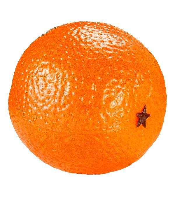Orange - 8cm Diameter - Pack of 3