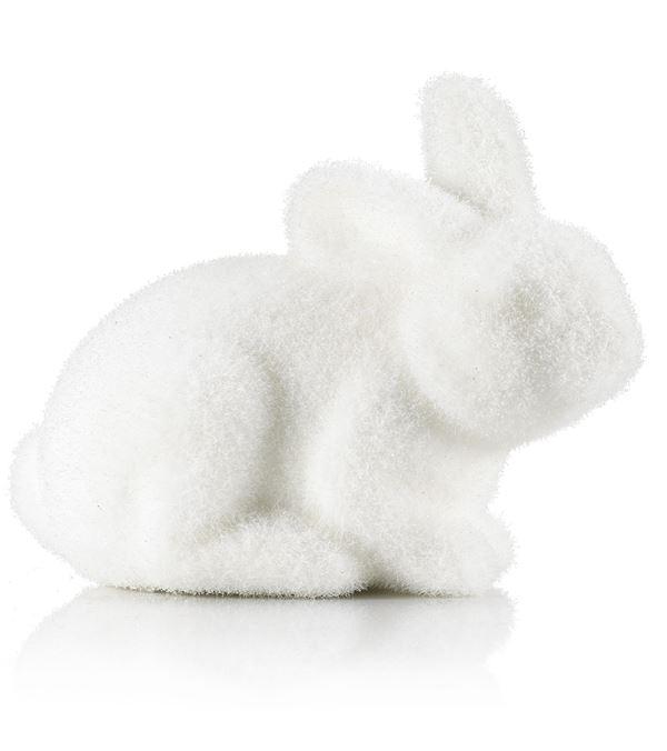 Rabbit - Sitting - 13cm - White - Pack of 2