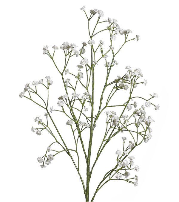 Gypsophilia Spray - 68cm - White - Pack of 3