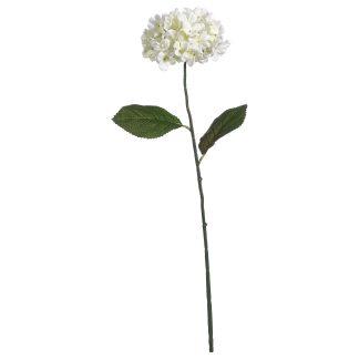 Artificial White Hydrangea