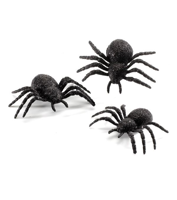 Spiders - 75mm X 110mm - Black - Pack of 12