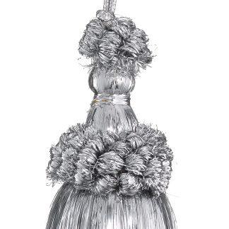 Metallic Yarn Tassel