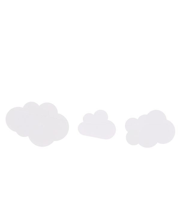 Cloud Bunting - 200cm Long - Pack of 3 - White