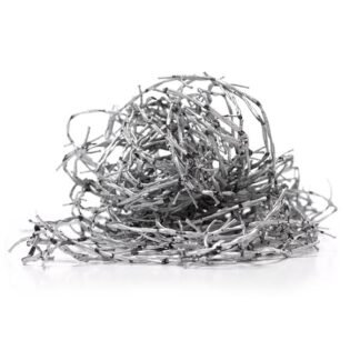 Barbed Wire - 30m Long - Silver - Sold Individually