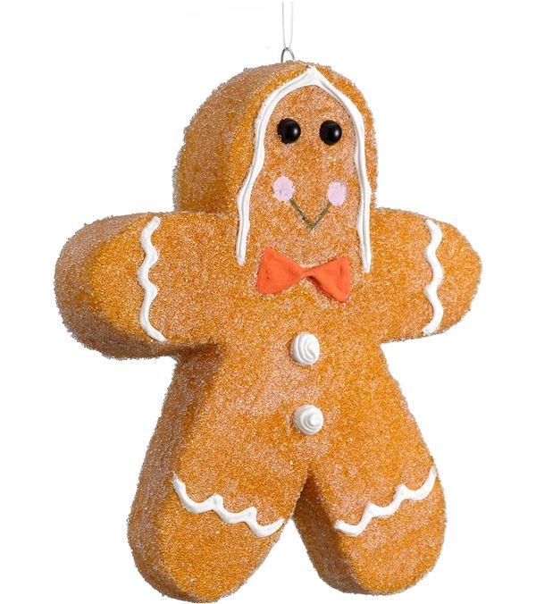 Gingerbread Man - Small - 15cm Tall - Brown (16181)