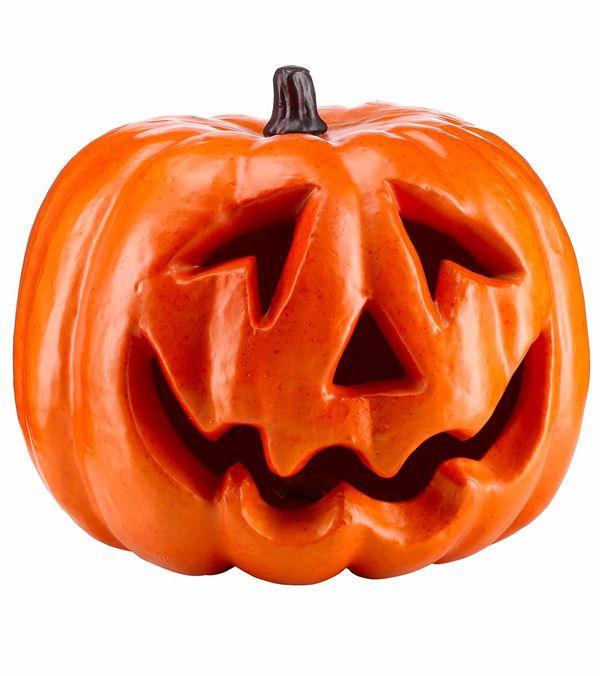 Giant Pumpkin Head - 33cm Diameter - Orange