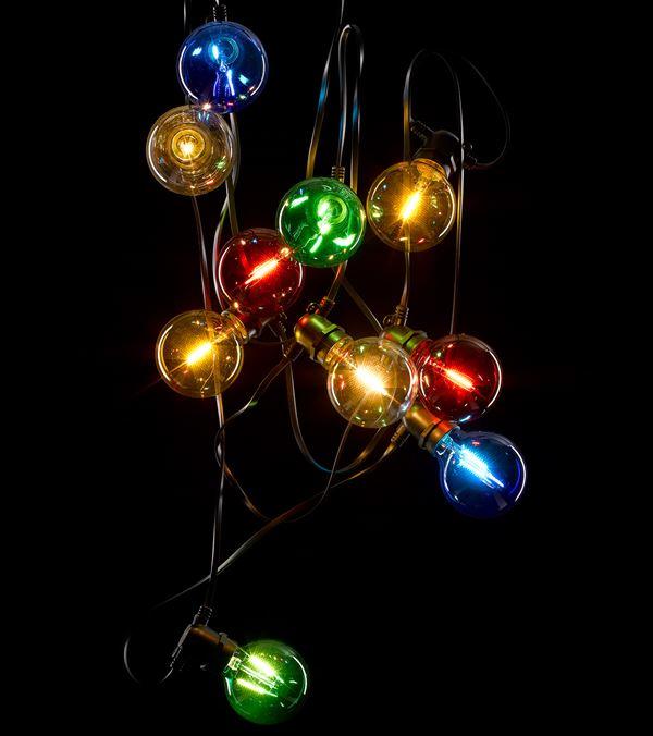 Giant Festoon Lights - Multicolour