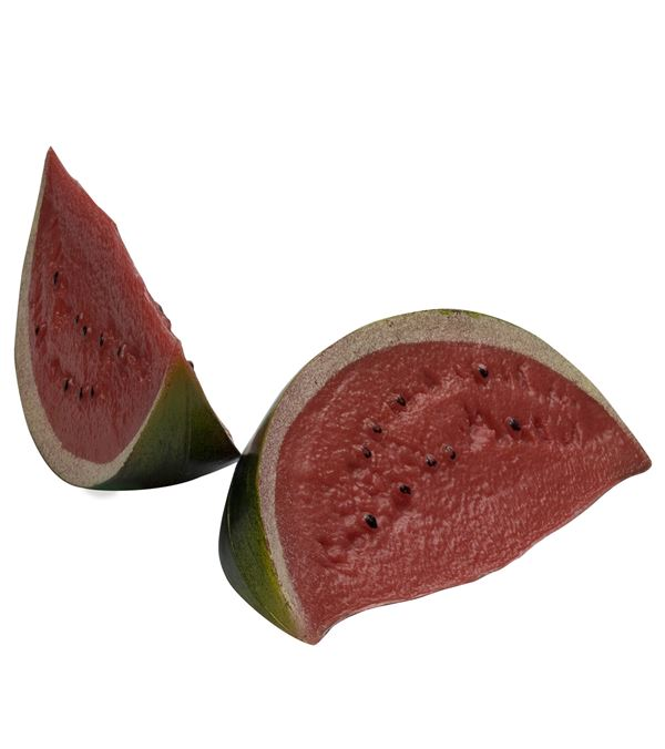 Watermelon Slices - 16cm X 8cm - Red - Pack of 2