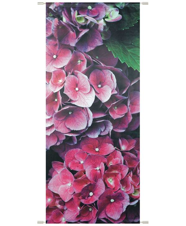 Fiona Banner - 180cm Long X 75cm Wide - Purple - Sold Individually