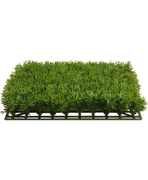 Grass Panel - 28cm X 5cm - Green - Pack of 6