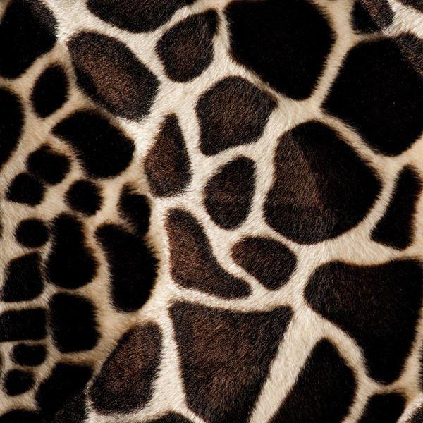 Giraffe Textured Velvet - 150cm Wide - Brown - Per Linear Metre