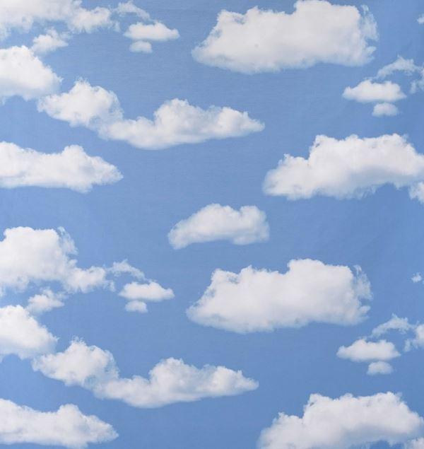 Clouds Photoprint Fabric - 150cm Wide - Blue - Per Linear Metre
