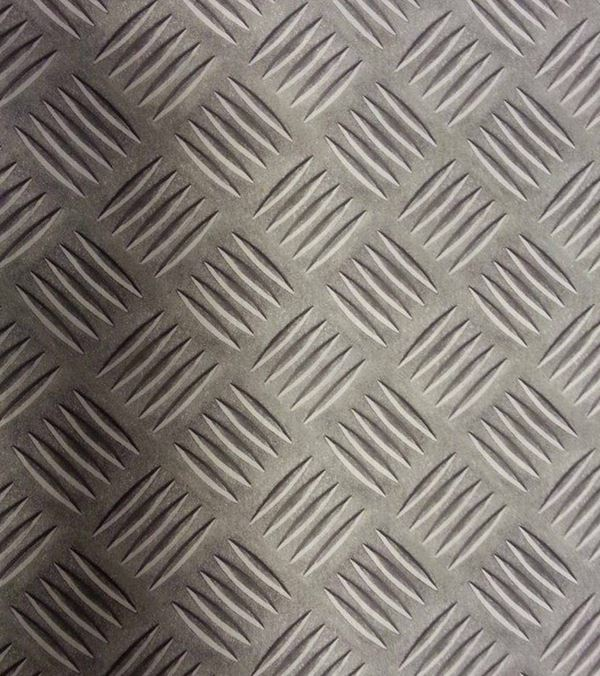 Metallic Photo Print Fabric - 150cm - Grey - Per Linear Metre