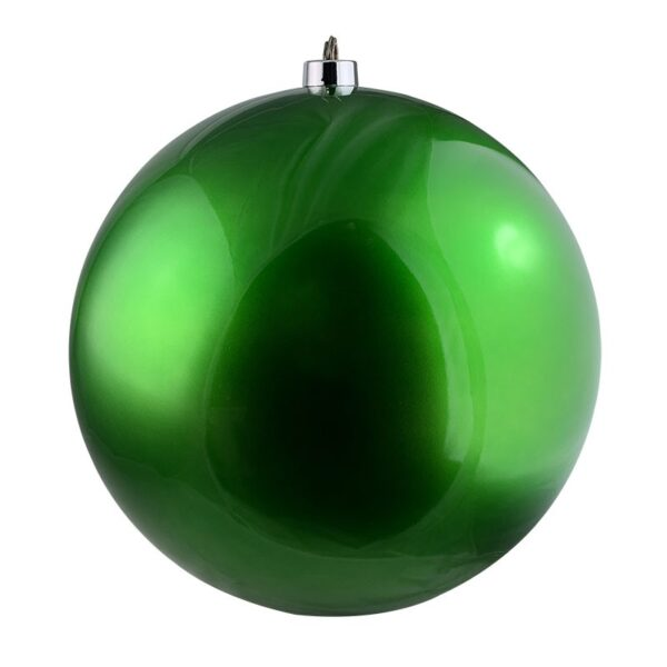 Large Gloss Bauble in Green 500mm