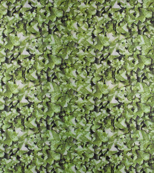 Ivy Photoprint Fabric - 150cm Wide - Green - Per Linear Metre