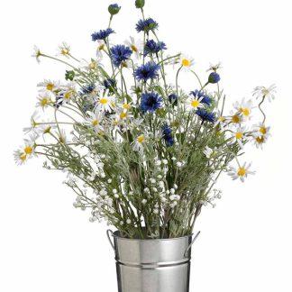 Cornflower Spray Blue 80cm - 80cm Tall - Blue - Pack of 3