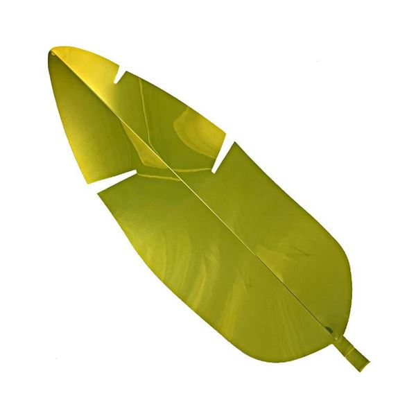 Gold Display Banana Leaf - 67cm - Pack of 1